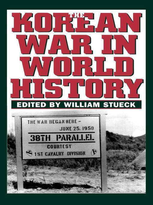 The Korean War in World History (eBook)